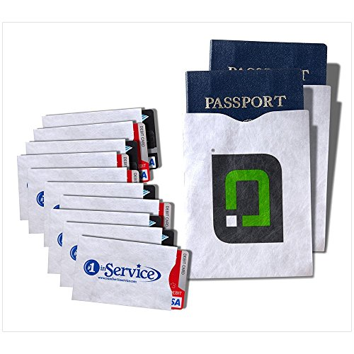 Credit Card & Passport Holders Case Set Wanti-theft Rfid Blocking Capabilities for Security