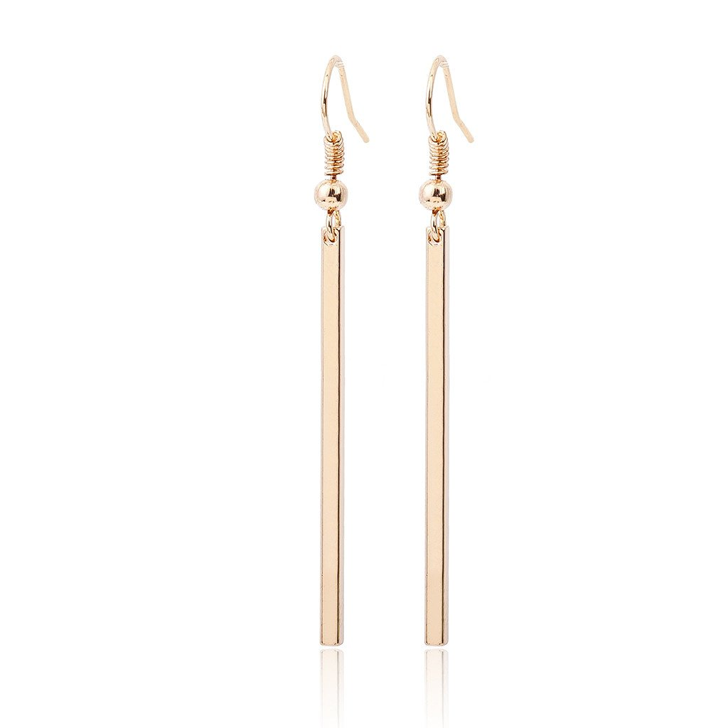 1pair Hooked Rectangle Earrings Fashion Lady Jewelry Earrings Sets