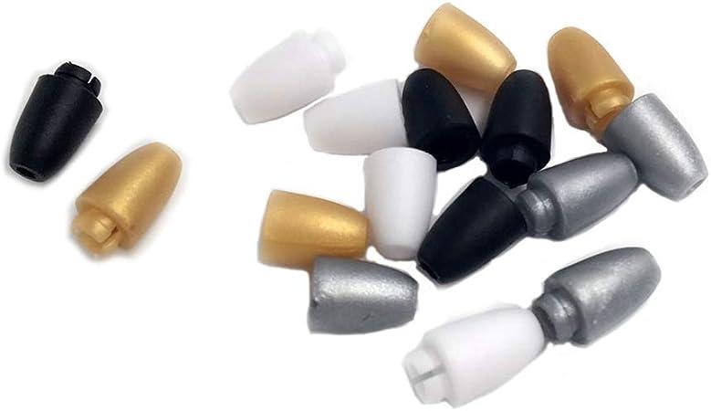 couleur m/élang/ée 100pcs Coskiss 100pcs M/élange de couleur Break Away Fermoir de s/écurit/é pour dentition Colliers et Bracelets Plastic Breakaway Fermoirs pour Collier