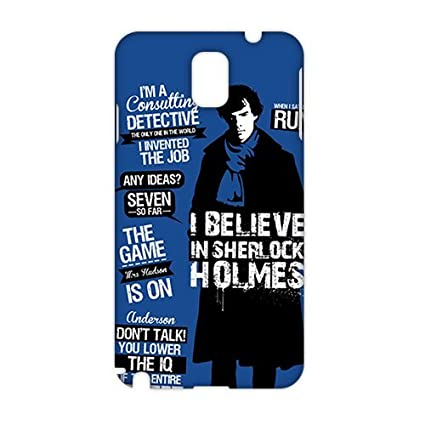 sherlock quotes moriarty 3D Phone Case for Samsung Galaxy