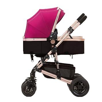 GHH - Carrito Doble para Cochecito de bebé (Plegable, Ultraligero, Absorbente de Golpes, para bebés de 0 a 3 años, 60 kg máximo): Amazon.es: Hogar