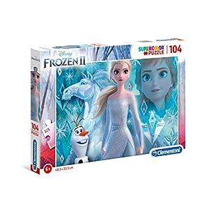 Clementoni Clementoni 27127 Supercolor Disney Frozen 2 104 Pezzi Puzzle Bambini Multicolore 27127