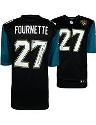Leonard Fournette Jacksonville Jaguars Autographed Black Replica Jersey - Panini Authentic - Fanatics Authentic Certified