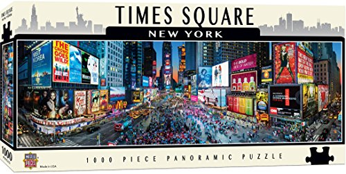 MasterPieces American Vistas Panoramic Times Square Jigsaw Puzzle, - Square Broadway