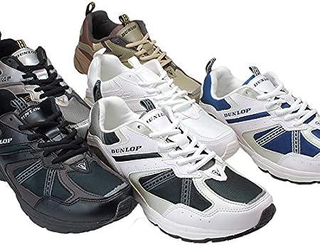 [ダンロップモータースポーツ] マックスラン ライト DM153 メンズ スニーカー DUNLOP MAXRUN Light 4E 幅広 軽量 撥水加工 ランニング ウォーキング シューズ 運動靴