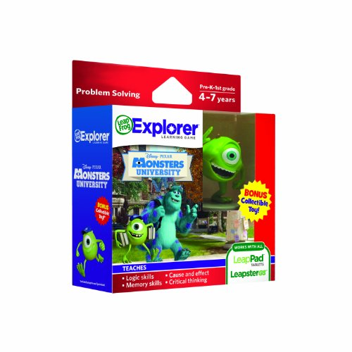 sney Learning Games with Free Collectible Toy (Pixar Monsters University) ()