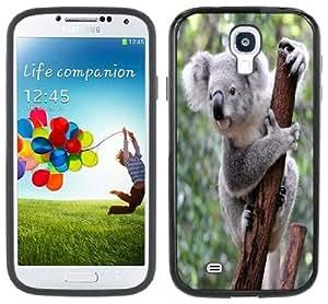Koala Bear Samsung Galaxy S4 Black Bumper Hard Plastic Case
