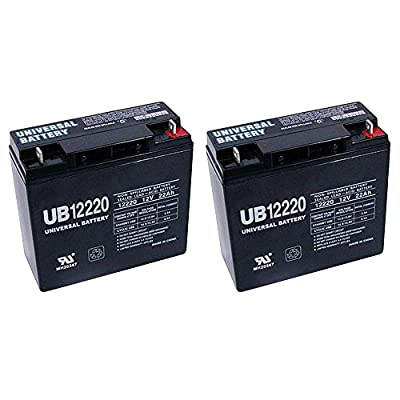 12V 22Ah SLA Battery for Westward Battery Jump Starter + 2 Pack