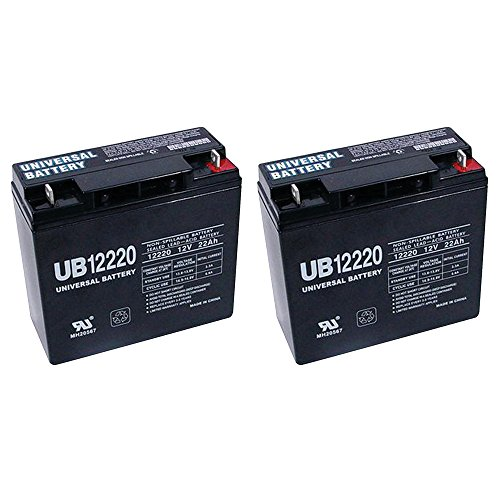 UB12220 REPLACEMENT HR22-12 Battery - 22 amp hour - 12 volt - 2 Pack
