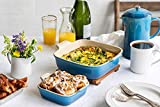 Le Creuset Stoneware Heritage Set of 2 Square