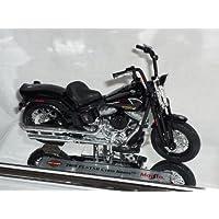 harley Davidson 2008 Flstsb Cross Bones Schwarz 1/18 Maisto Modellmotorrad Modell Motorrad