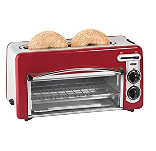 Hamilton Beach Toastation 2-in-1 2-Slice Toaster & Oven, This appliance is ok. The toast comes out with