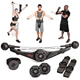 OYO Personal Gym - Full Body Portable Gym Equipment Set for Exercise at Home, Office or Travel - SpiraFlex Strength Training Fitness Technology - Used by NASA