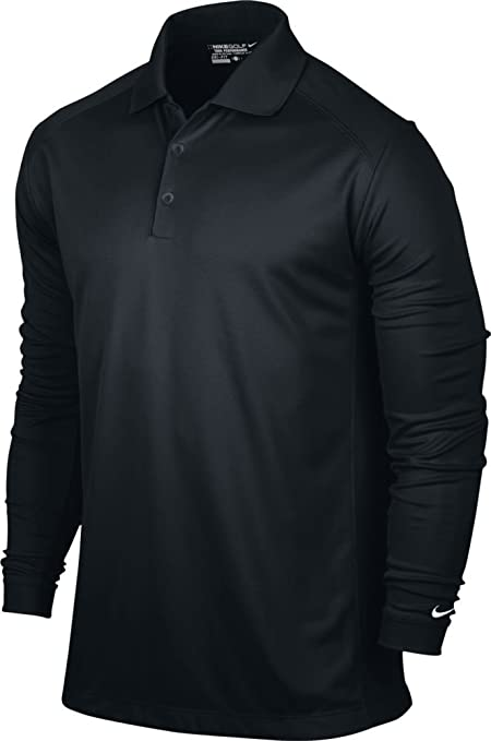 3aec3bdf6 Amazon.com : NIKE Men's Victory Long Sleeve Polo : Sports & Outdoors