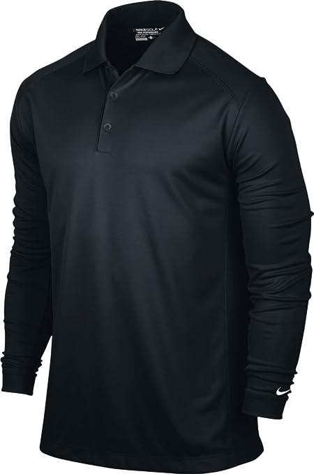 6dd8c9d16 Amazon.com : NIKE Men's Victory Long Sleeve Polo : Sports & Outdoors