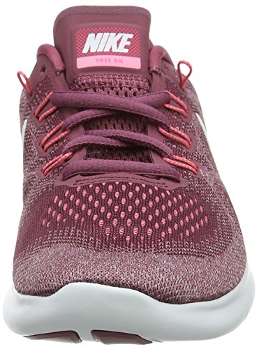 604 2017 RN NIKE Element Free Running de Vintage Chaussures Off Rose Wine White WMNS Femme qFFaxtSr6w
