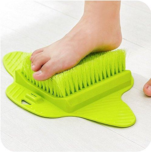 Senchanting Massager Foot Cleaner Bath Brush Scrubber Exfoliating Feet Washer Shower(Green) by Senchanting