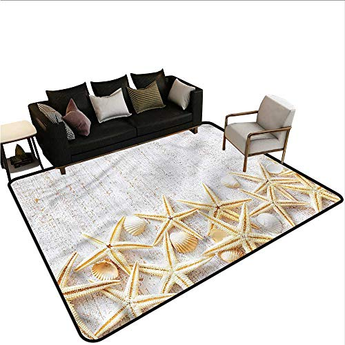 (Seashells,Front Mat Home Decorative Carpet 48