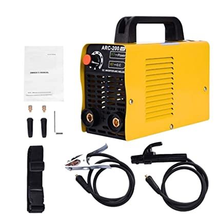 ARC-200 110V Mini Inverter DC Mini Welding Machine (Yellow-Arc 200 ...
