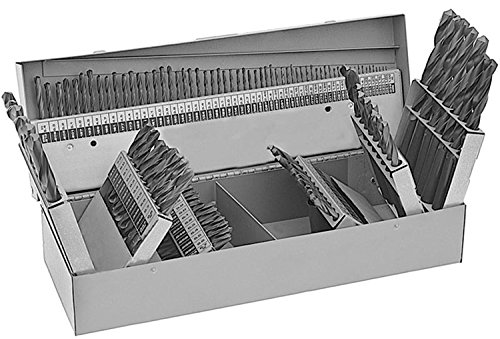 "Drill America DWD115J-CO-SET - DWD-Series 115-piece Cobalt High Speed Steel Jobber Length Drill Bit Set,x23;60 to 1/2"" Bit Size Range"
