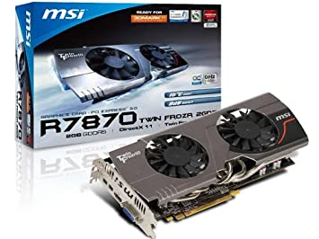 Amazon.com: MSI Radeon HD7870, 2 GB GDDR5, Mini ...