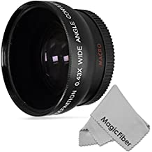 52MM Vivitar 0.43X High Definition Wide Angle Lens w/ Macro Portion for NIKON D7200 D7100 D7000 D5300 D5200 D5100 D5000 D3300 D3200 D3100 D3000 Cameras and Select Canon and Pentax Lenses