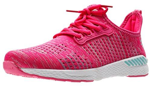 6 de Oscuro Adulto Zapatos 36 Unisex Ligeros Rosa Colores Running 46 JOOMRA wqRaUpxYR
