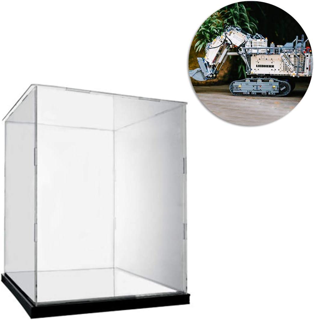 semplici Vetrina Acrilico Espositore Cube Case Box per montaggio giocattoli