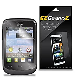 (5-Pack) EZGuardZ Screen Protector for LG 306G (Ultra Clear)