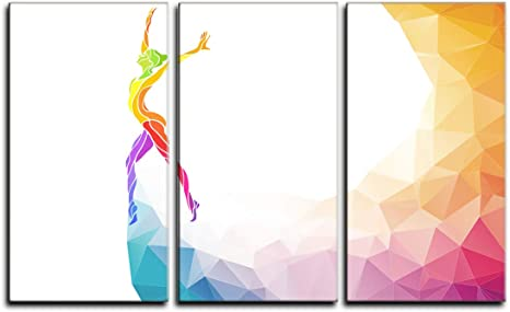 Gymnastics Girl Woman Canvas Prints Posters Modern Wall Art Picture Painting