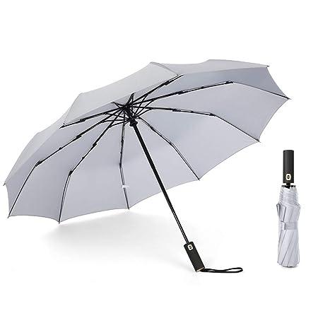 JUNDY Paraguas a Prueba de Viento y Estable, Paragua de ...