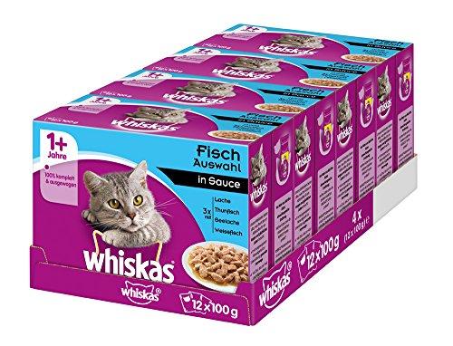 Whiskas 1 + Katzenfutter – Hochwertiges Nassfutter für Katzen
