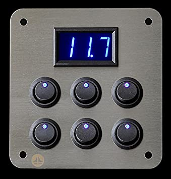 Lek Tek: 12V 16A 6Schalter Blau LED Voltmeter ...