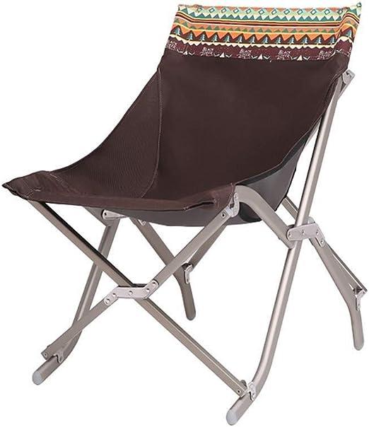 WOYQS Silla Camping Silla Plegable for Acampar Taburete de ...