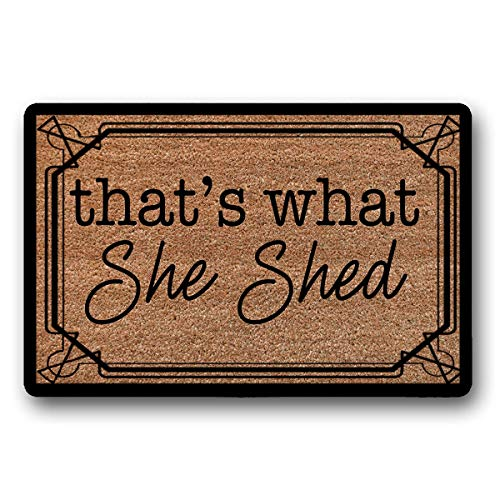That's What She Shed Doormat