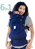 LÍLLÉbaby The COMPLETE Organic SIX-Position, 360° Ergonomic Baby & Child Carrier, Blue Moonlight – Organic Cotton Baby Carrier, Comfortable Ergonomic, Multi-Position Carrying for Infants Babies Toddlers Review