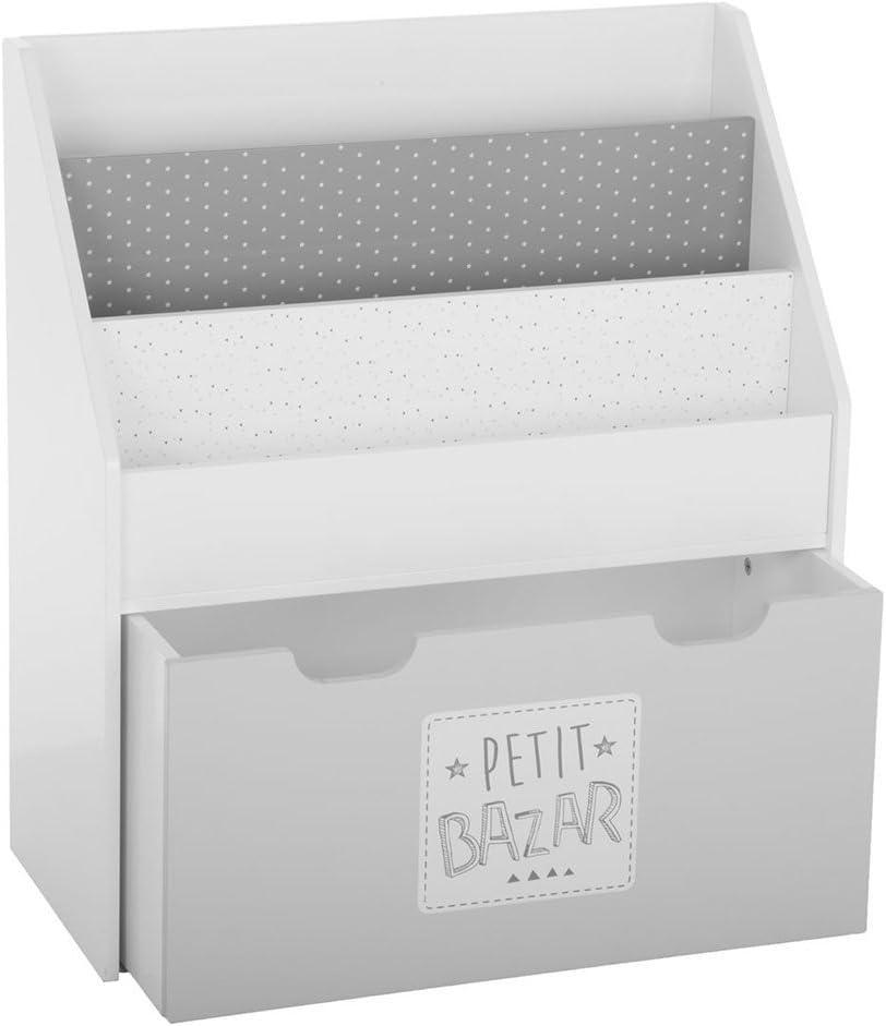 Atmosphera Biblioth/èque avec Un Grand tiroir-Coffre pour Chambre denfant