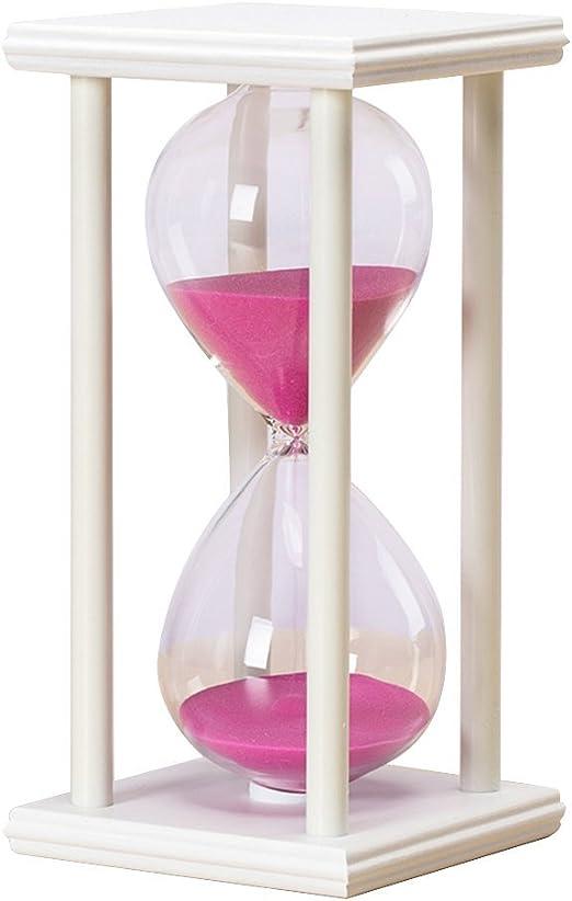 Reloj de arena reloj de arena reloj de madera 30 minutos para cocina, juegos de cocina, profesor de autismo niños cepillo de dientes cuenta atrás: Amazon.es: Hogar