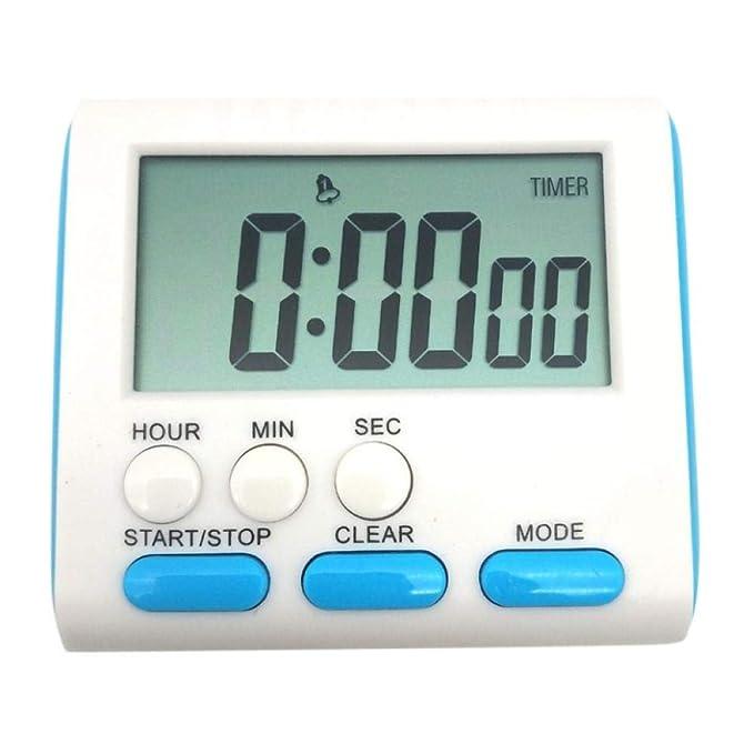Compra TPYFEI Reloj Despertador LED Digital Función de Cuenta ...
