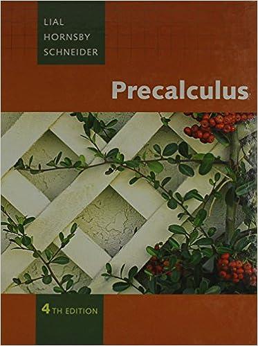 Precalculus Plus Mymathlab Student Access Kit 4th Edition
