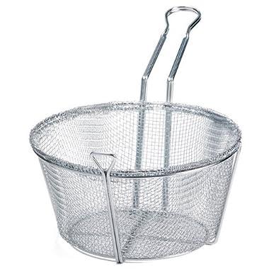 Wire Round Fry Basket - 10-1/2  Dia.