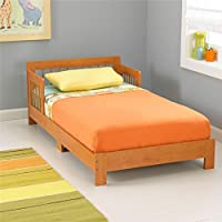 KidKraft Toddler Houston Bed, Honey