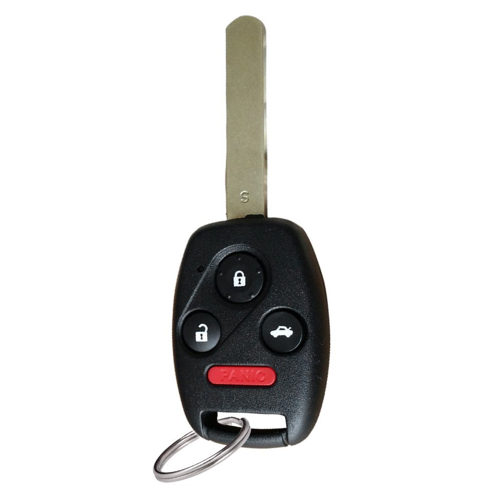YITAMOTOR Compatible for Honda Accord 2003 2004 2005 2006 2007 Keyless Entry Remote Car Key Fob OUCG8D-380H-A with 46 Chip