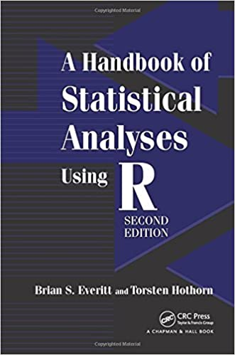 Amazon com: A Handbook of Statistical Analyses Using R