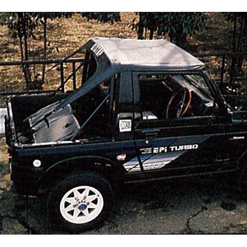 サン自動車工業 SUZUKI JIMNY用 サントップ/黒 SJ21 B00C4MGE0W