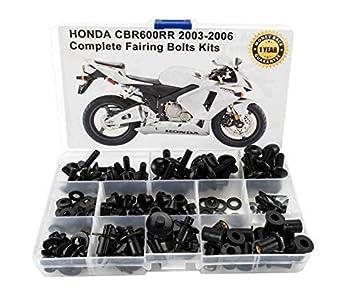 Verkleidungsschrauben OEM Style Honda CBR600RR PC37 03-06 schwarz