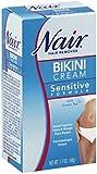 bikini Nair Bikini Cream with Green Tea Sensitive Formula, 1.7 Oz