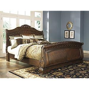 Ashley North Shore 5/0 Queen Sleigh Bed B553 …Best Seller