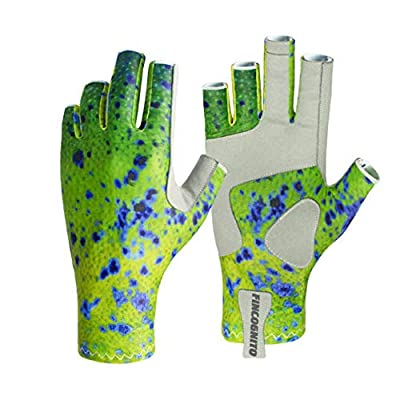 96PFDO-SM/MD Fincognito Dorado Sun Gloves-Sm/Md by Cognito Brands, Inc.