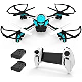KAI DENG K80 Drone with Camera for Kids - 720P HD Camera Kids Drone for Beginner & RC Helicopter with Remote Control - Extra Battery
